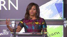 LET GIRLS LEARN! Watch Michelle Obama speak on International Women's Day ... https://youtu.be/FIN1F0TyadM