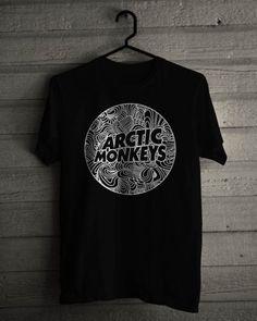 New-The-Arctic-Monkeys-British-Rock-Black-T-Shirt-Size-S-5XL