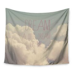 """East Urban Home Dream of Me by Rachel Burbee Wall Tapestry Size: 60"""" H x 80"""" W"""