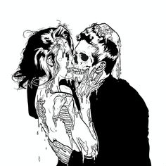 check out 4 more poppin' boards & pins 🧚🏼♀️ Arte Dope, Dope Art, Arte Horror, Horror Art, Art Sketches, Art Drawings, Drawing Art, Dark Love, Beautiful Dark Art