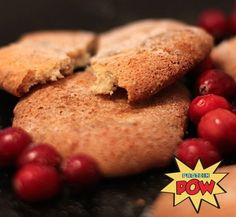 Three+Ingredient+Christmas+Protein+Cookies+(Low-Carb+&+Gluten-Free)