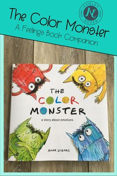 """This Color Monster"" book companion teaches your students how to express and monitor their feelings. There are many fun and engaging materials included that go with the book!"