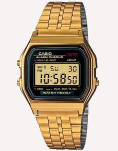 2340a79c920a6 Casio Vintage Collection A159 Watch Zegarki Sportowe, Wydajność, Bęben  Mały, Moda Vintage,
