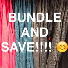 Bundle Bundle Bundle!!! I give great discounts when you bundle multiple items  and I always try to get you discounted shipping!!! Aeropostale Tops