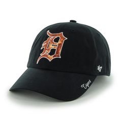 4567ba2ed3a4d Detroit Tigers 47 Brand Sparkle Clean Up Adjustable Hat. Detroit Tigers HatDetroit  GameTeam GearTiger ...