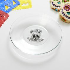 Morelia Flora Plate  | Crate and Barrel (Yay! I just ordered 6 of them from an out of area store with free shipping) ***LL