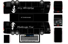 Paper Model Semi Truck   Onibus Papel Modelismo 2.0   Página 20