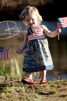 """Fabric choice idea for patriotic dress """"The Avery Dress"""" by pinkpoodlebows on Etsy https://www.etsy.com/listing/154719483/girls-dress-pattern-pdf-sewing-pattern"""