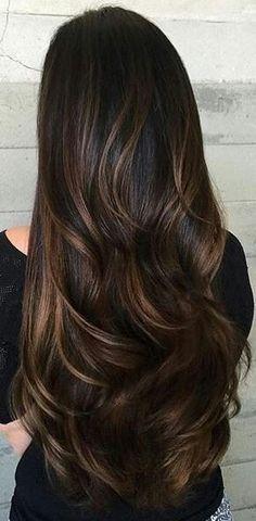 Beautiful Brunette Hair!