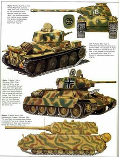 Some German tanks and a captured Military Art, Military History, Tank Wallpaper, Tank Armor, War Thunder, Model Tanks, Naval History, Armored Fighting Vehicle, Ww2 Tanks