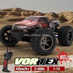 Remote Control Car 42km/h RC Car High Speed Remote Control Off Road Dirt Bike Toys Truck Traxxas Big Wheel