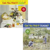 Can You Find It Inside? and Can You Find It Outside? Book Set