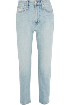 Madewell - The Perfect Summer High-rise Straight-leg Jeans - Light blue - 32