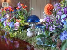 Love this wedding table display...magical!