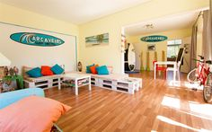 カスカイスのCarcavelos Surf Hostel