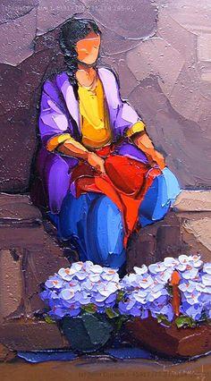 Saim Dursun Turkish Painter