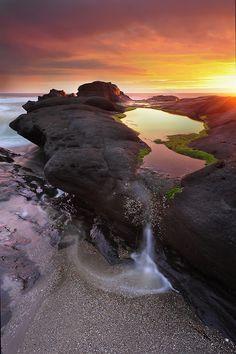 ~~A fireside scenery ~ epic sunset, Yachats, Oregon by VictorLiu Photography~~