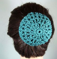 Crochet Hair In A Bun : 1000+ images about bun covers on Pinterest Hair buns, Buns and Snood