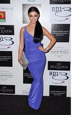 Shelby Billingham in the Honor Gold Gabriella Maxi Dress in Lavender- available now! http://www.spottedonceleb.com/designer/honor-gold-gabriella-maxi-in-lavender.html