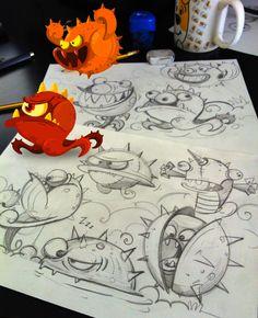 creatures. illustration / Art Game