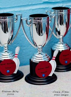 Bowling Party Awards - this would be fun at a company outing!