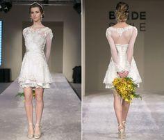 Vestidos de noiva curtos - Bolsa de Mulher