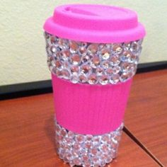 Must b-dazzle coffee container