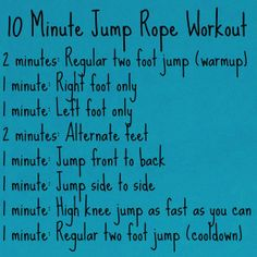 If you think Jumping Rope sounds easy and fun, you are right, but it also tones the entire body, improves your cardiac conditioning, and helps you lose weight. Click Picture to Purchase a jump rope today!