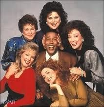 The Cast of designing women.