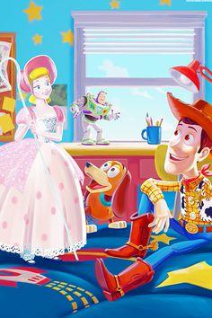 Mickey and Company Disney Pixar, Old Disney, Arte Disney, Disney Toys, Disney Fan Art, Disney Magic, Disney Ideas, Unicornios Wallpaper, Disney Wallpaper