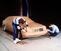 OG   1991 Mercedes-Benz S-Class - W140   Full size clay model