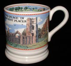 Emma Bridgewater Mug National Trust Countryside Find Peace English Pottery 2005
