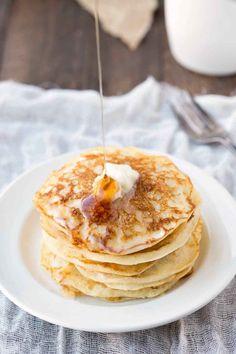Buttermilk Pancake Recipe - light and fluffy pancake recipe.