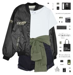 got on my buttercream silk shirt and it's versace Motorcycle Jacket, Military Jacket, Bomber Jacket, Going Home, Loose Ends, Adidas Originals, Versace, Polyvore Fashion, How To Get