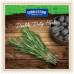 Upgrade your grill game! Place rosemary directly over hot charcoal to infuse your food with a subtle flavor. Its thick, woody stems means it will burn longer than more delicate options. It will also make your yard smell incredible. #KitchenHack