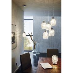 Hľadáte najkrajšie závesné svietidlá? Skúste Eglo Bonares - Svietidlá, lampy a lustre online   Elampy.sk Crystal Pendant, Ceiling Lights, Crystals, Lighting, Home Decor, Cluster Pendant Light, Dining Chairs, Catalog, Homemade Home Decor