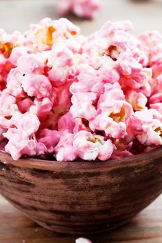 4 Ingredient Strawberry Marshmallow Popcorn Recipe
