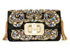 Marchesa Fall 2012 Evening Clutches and Handbags Marchesa, Best Handbags, Purses And Handbags, Leila, Designer Clutch, Beaded Bags, Womens Purses, Couture, Clutch Purse