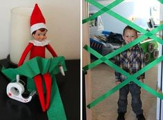 Elf on the Shelf is a fun Christmas tradition! If you are short on inspiration, check out these 25 fun Elf on the Shelf ideas your kids will love!