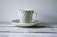 Vintage Upsala-Ekeby Sweden Tea Cup