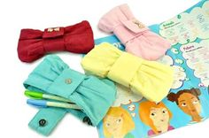 adorable pouch idea 壊れたDOLL: Make Everyday Cute With Kawaii Stationary Pencil Cases For Girls, Cute Pencil Case, Pencil Pouch, Fun Crafts, Crafts For Kids, Cute School Supplies, Cute Cases, Stuff To Do, Random Stuff