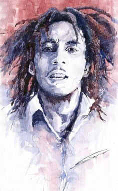 Yuriy Shevchuk, Bob Marley 3 - Born in 1961 in Kiev, Ukraine, Yuri Shevchuk attended the Kiev Art School and the prestigious Kiev Architectural Academy. Yuriy has recorded his own experiences in his artworks: his three passions, painting, jazz and historical cars have become the focus of his paintings. Bewitched with jazz music he skillfully and rapidly sketches the cool and charming figures of musicians in action, showing the positive mood and spiritual intensity of jazz.