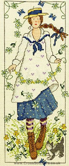 Country Lass - Daisy - Bothy Threads Cross Stitch Kit