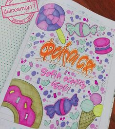 Maraca tus cuadernos Cool School Supplies, Diy And Crafts, Paper Crafts, School Notebooks, Decorate Notebook, My Notebook, Too Cool For School, Bullet Journal Inspiration, Doodle Art