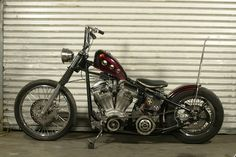 Holes through the gas tank Harley Bobber, Harley Davidson Motorcycles, Custom Motorcycles, Biker Movies, Bobber Style, Bobber Chopper, Old Trucks, Lifted Trucks, Bike Life