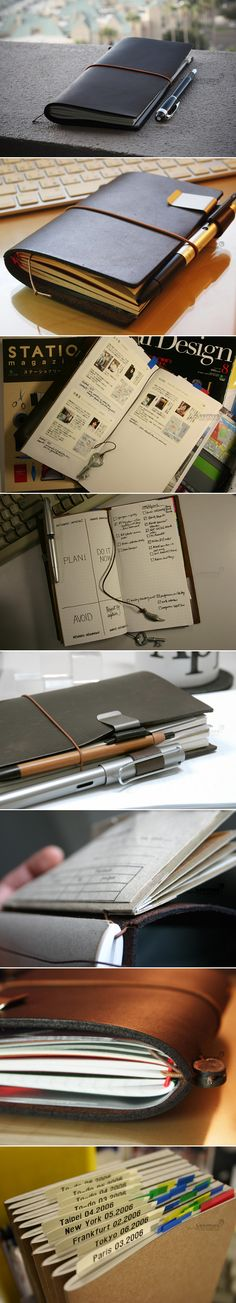 Switching from an A5 FiloFax to a Wide Quad Fold Midori   Can't wait to get my vegan version of this fantastic planner! Wonder if I can make one?