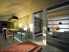 V.B.CH. : archholiks Conference Room, Loft, Bed, Table, Furniture, Home Decor, Decoration Home, Stream Bed, Room Decor