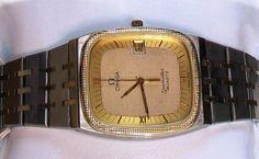OMEGA Seamaster Quartz - men's wristwatch - 1980s by VintWatch on Etsy