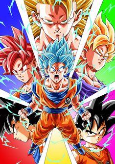 Anniversary of Dragon Ball Dragon Ball Z, Manga Anime, Anime Art, Kimi No Na Wa, Goku Evolution, Kuroko, Akira, Noragami, Sailor Moon