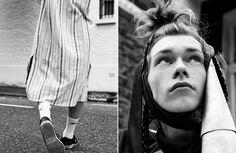 Kit Warrington by Jade Danielle Smith / Rocket Boy / News / Boys by Girls Magazine Editorial, Editorial Fashion, Danielle Smith, Girls Magazine, Back To Nature, Jade, Sons, Menswear, Dreadlocks